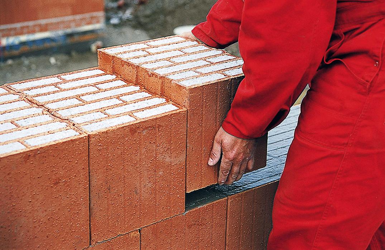 Теплая кладочная смесь для керамических блоков своими руками 3